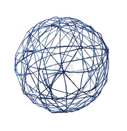 Ball auf weißem Hintergrund