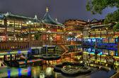 Yuyuan Garden and teahouse in Shanghai