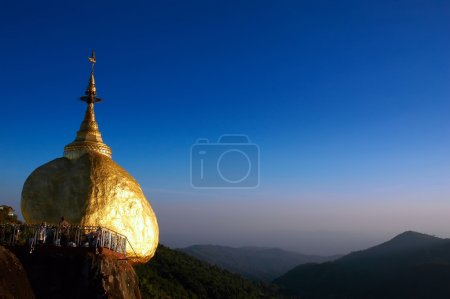Golden Rock, Kyaikhtiyo, Myanmar.