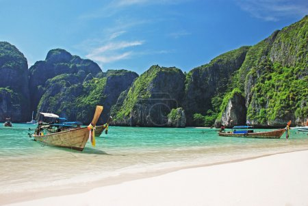 Tropical beach on Koh Phi Phi island, Thailand
