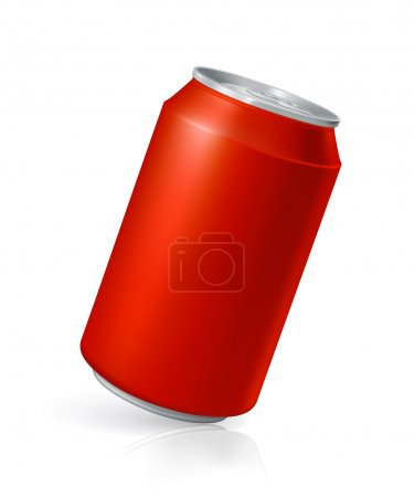 Illustration for Drink Can, vector - Royalty Free Image