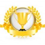 Golden Emblem, vector...