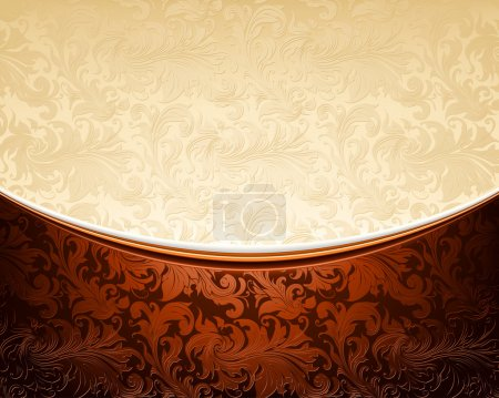 Illustration for Luxury Background, vector - Royalty Free Image