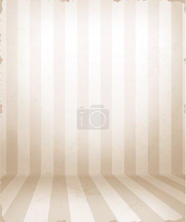 Striped room, eps10