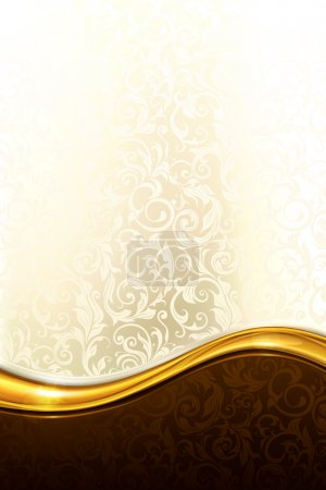 Illustration for Luxury Background - Royalty Free Image