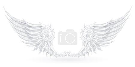 Wings White, eps10