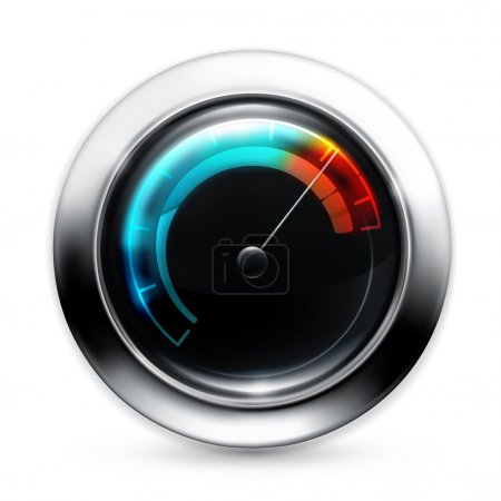 Illustration for Speedometer, 10eps - Royalty Free Image