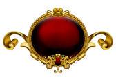 Vintage frame red 10eps