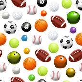 Balls seamless pattern 10eps