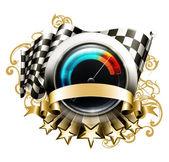 Racing emblem 10eps
