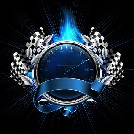 Photo for Blue Emblem Races - Royalty Free Image