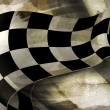 Background Horizontal Checkered, old-style vector...