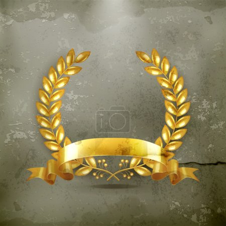 Photo pour Couronne d'or, vector - image libre de droit