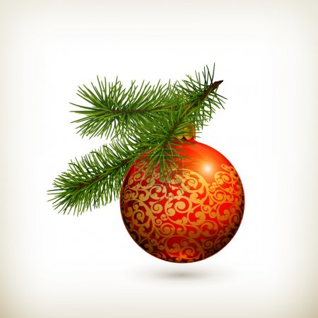 Illustration for Christmas decorations - Royalty Free Image