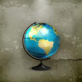 School globe old-style