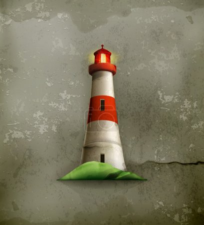 Lighthouse, old-style