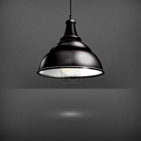 Black Lamp, vector