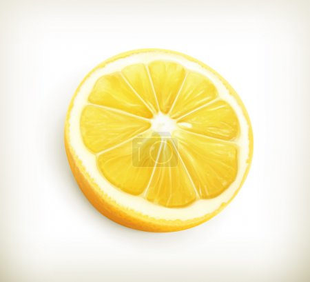 Illustration for Lemon vector - Royalty Free Image