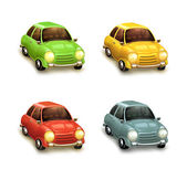 Cars vector icons set