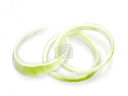 Onion rings vector illustration