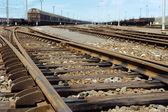 Rusty railway junction