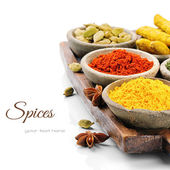 Colorful mix of spices