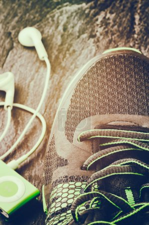 Photo for Sneakers closeup. Sport concept - Royalty Free Image