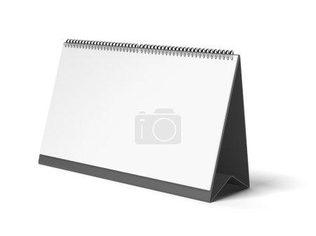 Black blank calendar