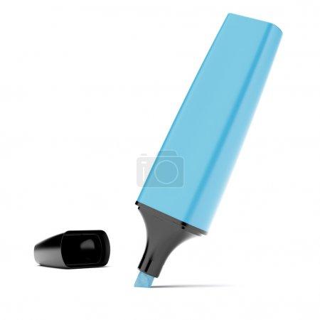 Blue highlighter