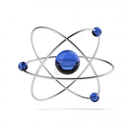 Orbital model of atom