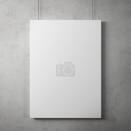 Photo for Blank billboard on the wall - Royalty Free Image