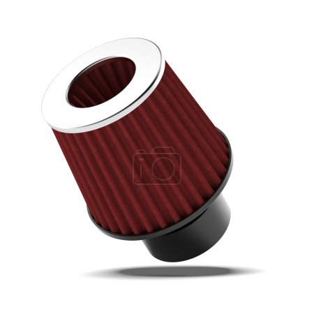 Red Air filter