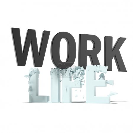 Work destroys life