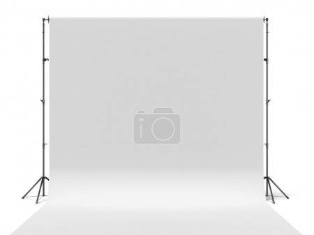 White photo background