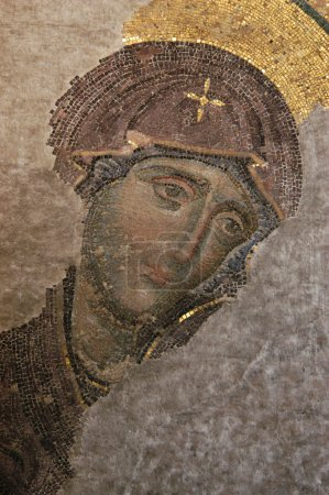 Byzantine Mosaic of the Virgin