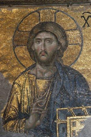 Byzantine Mosaic of the Jesus Christ