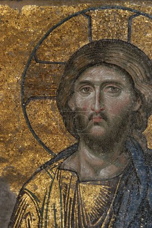 Byzantine Mosaic of the Jesus Christ