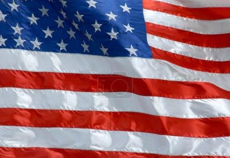 Photo pour Drapeau national des États-Unis d'Amérique - image libre de droit