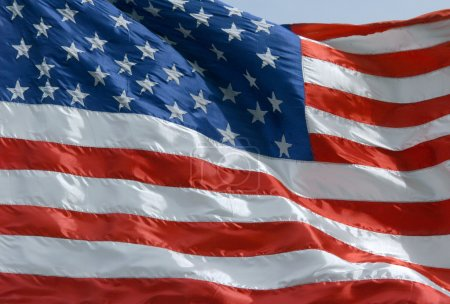 Photo for National flag of the United States - Royalty Free Image