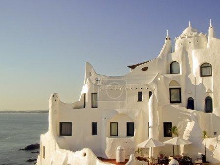 Casapueblo house in Punta del Este, one of the fam...