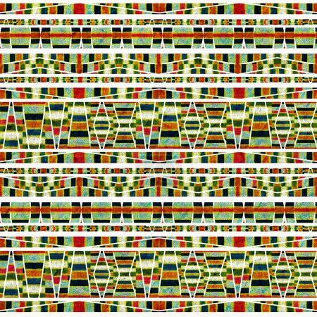 Aztec Style Pattern