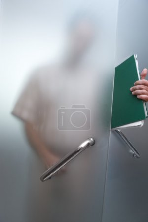 Photo for Manager seeking job during economic crisis - Royalty Free Image