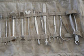 Set of surgical old instruments