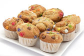 Homemade muffins or cupcakes