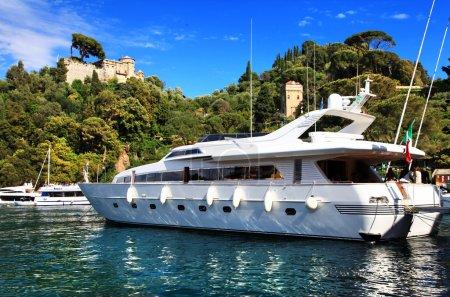 Portofino, Italy. Yachts