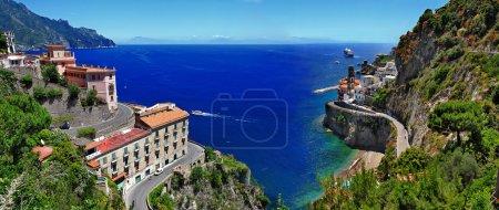 Photo for Pictorial Amalfi coast , Atrani village, Itlay - Royalty Free Image