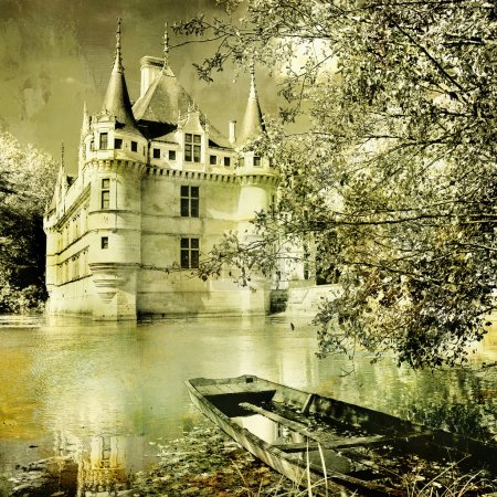 Azey-le-redeau castle