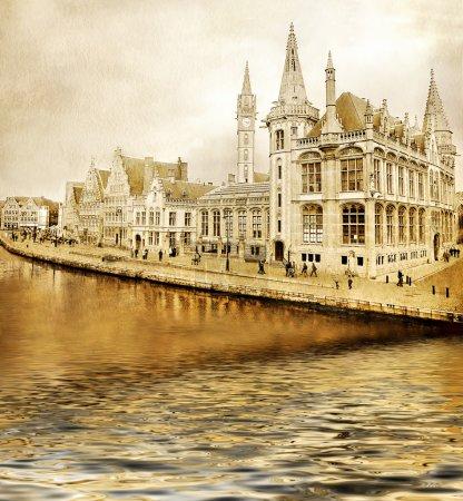 Photo pour Belgique - Gand - image libre de droit