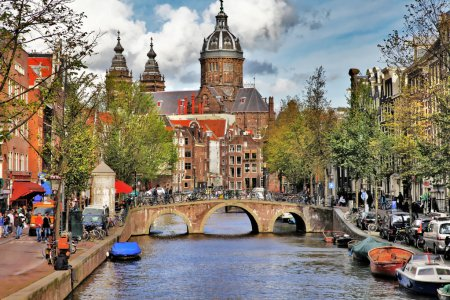 Beautiful Amsterdam canals