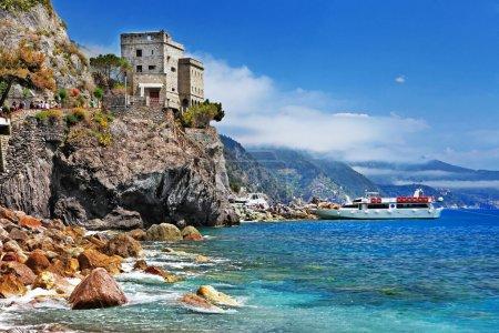 Italian holidays - beautiful Monterosso, Cinque terre